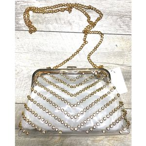 Clearly bedazzled handbag 👜 for Sale in Lynwood, CA