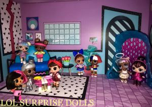 9 LOL Surprise Dolls. Brand new, all still in sealed bags . Used double for pictures. for Sale in Miami, FL