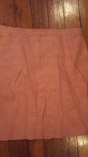 JCrew linen skirt sz 12 for Sale in Washington, DC