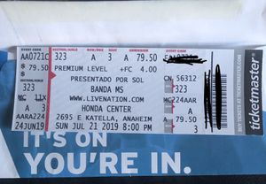 Banda MS Tickets for Sale in Tustin, CA