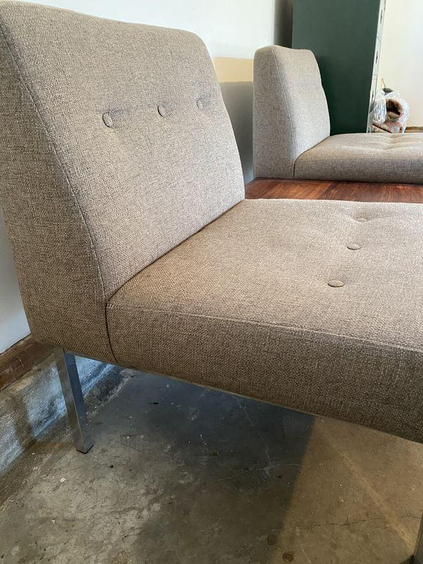 Vintage Mid Century Sofa Couch