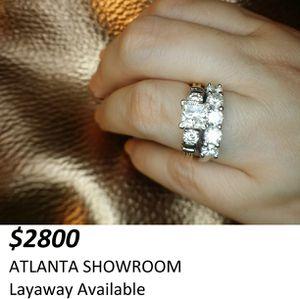 2.30 carat princess certified diamond ring for Sale in Atlanta, GA