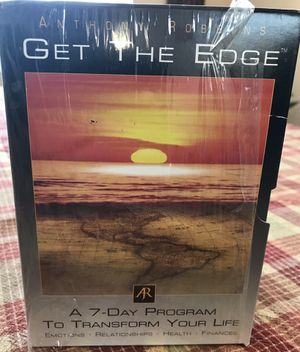 Tony Robbins - Get the Edge - 10 cd's for Sale in Brentwood, CA