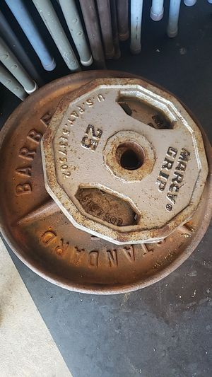 Weights 2 -45s 2-25s for Sale in Pittsburg, CA