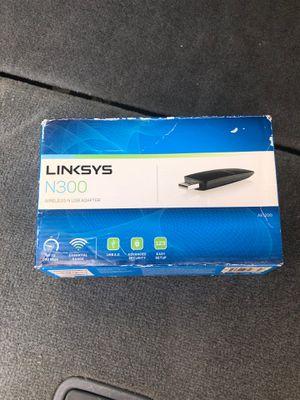 Linksys N300 wireless-n adapter for Sale in Jersey City, NJ