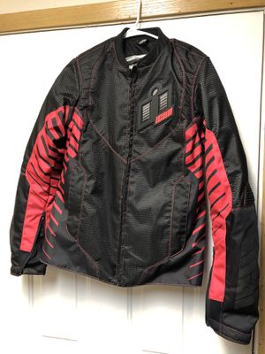 Icon Wireform Motorcycle Jacket Women's XL for Sale in Lynnwood, WA