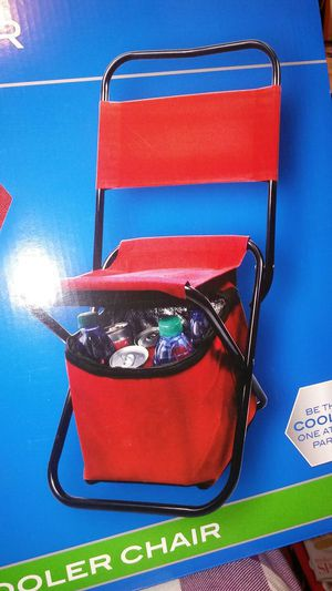 Xgear folding cooler chair for Sale in Bridgeport, CT
