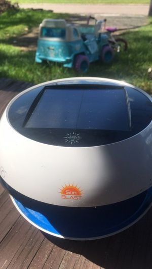 Sun Blast Solar Powered Bluetooth speaker for Sale in Jacksonville, FL