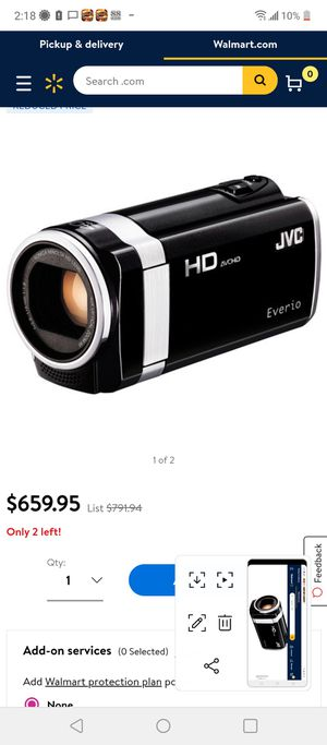 JVC Everio HD Camera camcorder for Sale in Spring Hill, FL
