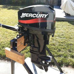 Mercury 20hp Long Shaft 2 Stroke Outboard for Sale in Castro Valley, CA