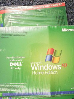 Windows XP Genuine Install CD/DVD for Sale in Queens,  NY