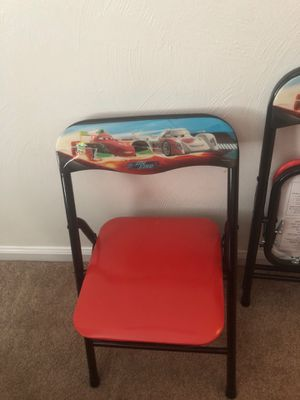 """Cars"" the movie set of kids chairs (x2) for Sale in Chesapeake, VA"