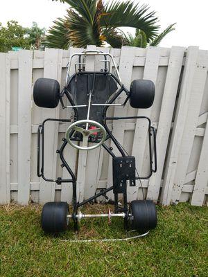 Racing gocart go-cart gokart go-kart go cart kart frame roller for Sale in Davie, FL