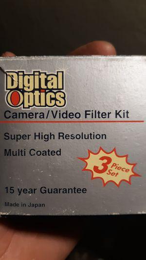 Digital optics camera/ video filter kit for Sale in Brooklyn, NY