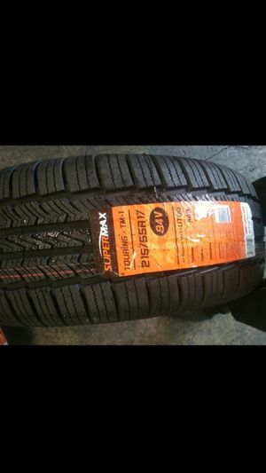 BRAND NEW SET OF TIRES 215 55 17 for Sale in Phoenix, AZ