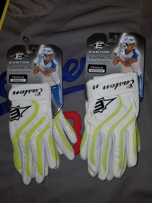 Brand New Easton Synergy Women Girls Softball Batting Gloves for Sale in West Covina, CA