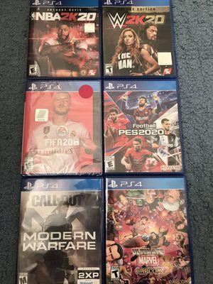 PS4 Games READ DESCRIPTION for Sale in Pittsburg, CA