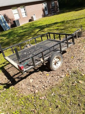 Metal trailer..good condition. for Sale in Gaffney, SC
