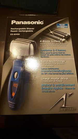 Panasonic Rechargeable Shaver for Sale in Chicago, IL