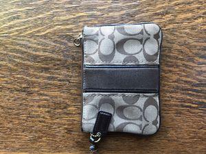Coach small corner zip wristlet for Sale in Tempe, AZ