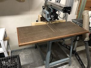 Delta Radial Arm Saw Model 10 w/ frued blade for Sale in Upton, MA