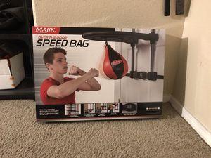 Over The Door Speed Bag for Sale in Phoenix, AZ