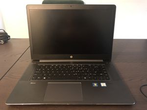 HP ZBook 15.6 inches FHD Laptop, core i7-6820HQ 2.7GHz, 32GB RAM, 512GB Solid State Drive, Windows 10 Pro 64Bit, Webcam. for Sale in McLean, VA