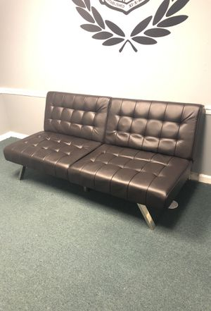 Futon futton sofabed sofá mueble like New for Sale in West Palm Beach, FL
