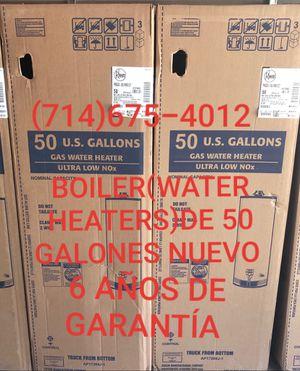BOILER(WATER HEATERS)DE 50 GALONES NUEVO DE LA MARCA RHEEM!!!!!!! for Sale in Santa Ana, CA