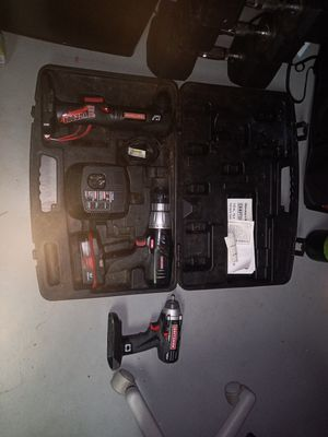 Craftsman Drills/Battery/Charger for Sale in Arvada, CO