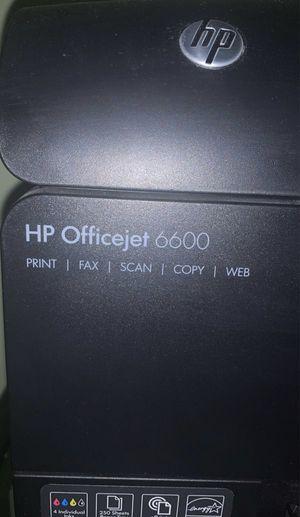 Printer (HP Officejet 6600) for Sale in Port St. Lucie, FL