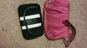 NY & C wristlets black and white coin purse wristlet and magenta pink wristlet perfect on the go for Sale in Dearborn, MI