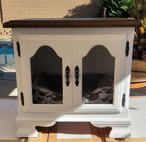 Hand Painted Functional Dog Furniture - Dog Bed - Kennel for Sale in Moreno Valley, CA