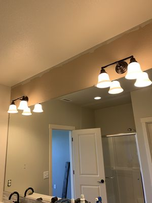 Two bathroom lights !!! for Sale in Vancouver, WA