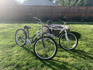 His and Hers Beach Cruiser Bikes for Sale in Hubbard, OR