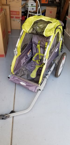 InStep single-seat tow behind bike trailer for Sale in San Diego, CA