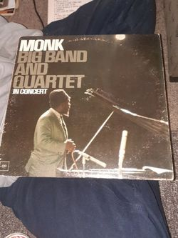 Monk Big Band And Quartet In Concert for Sale in South Kingstown,  RI