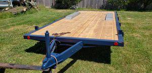 Heavy-duty flatbed trailer 8' x 18' for Sale in Kent, WA