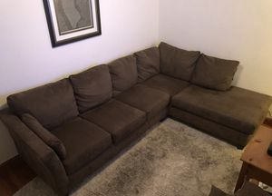 Sectional Couch Brown for Sale in New York, NY