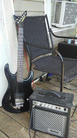 Washburn g seriser g 4. Washburn bad dog amplifier. for Sale in Kingsport, TN