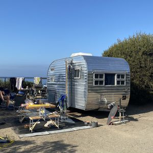 1955 Canned ham Travel Trailer for Sale in Spring Valley, CA