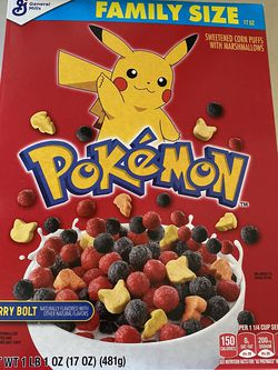 NEW General Mills Pokémon Cereal for Sale in East Wenatchee,  WA