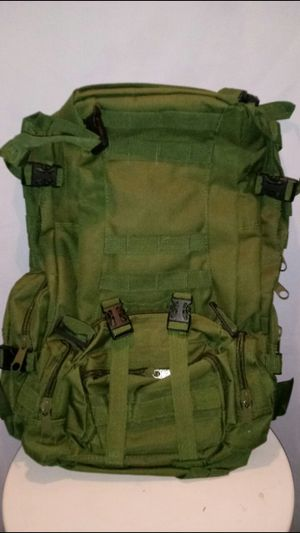 High Quality Backpack Tactical, Work, School. Olive Color. for Sale in Los Angeles, CA