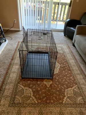 L Dog Crate, Large Crate for Sale in Kent, WA