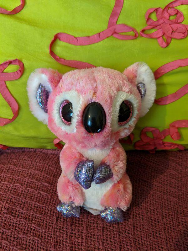 TY Brand Beanie Boos Koala Bear Kacey Plush Stuffed Animal Toy