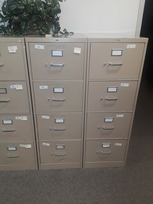 4 drawer file cabinets for Sale in Norcross, GA