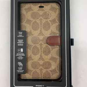 Coach iPhone 11 Pro Max Folio Case for Sale in Scottsdale, AZ