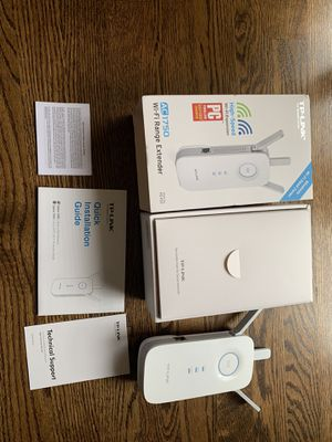 TP-Link AC1750 WiFi Range Extender with High Speed Mode (RE450) for Sale in Beaverton, OR