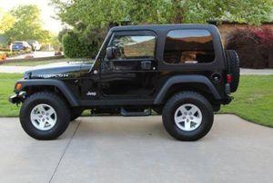 Wonderful 2003 Jeep Wrangler 4WDWheels for Sale in Worcester, MA