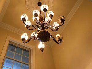 Large 14 light chandelier for Sale in Aspen Hill, MD